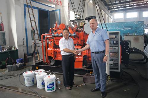 今日哈萨克斯坦客户到公司验收燃气机组 公司新闻 第3张