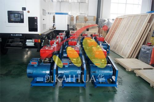 出口苏丹一批小型发电机组今日成功出厂 发货现场 第1张