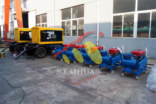 出口安哥拉一批发电机组今日成功出厂 发货现场 第1张