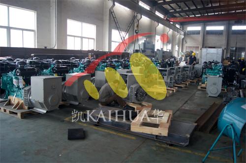 南亚客户订购的100台发电机组正在生产中 公司新闻 第3张