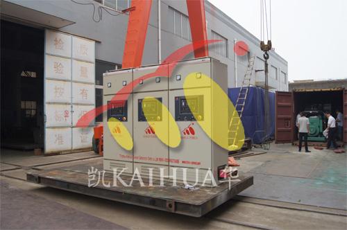 尼日利亚3台并机发电机组成功出厂 发货现场 第2张