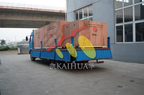 出口印尼6台康明斯发电机组今日成功出厂 发货现场 第4张