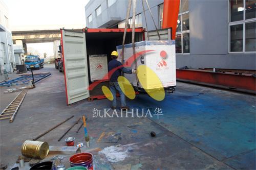 出口泰国2台50KW康明斯静音机组今日成功出厂 发货现场 第2张