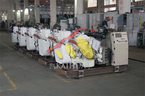 广东5台80KW船用康明斯机组正在生产中 公司新闻 第2张