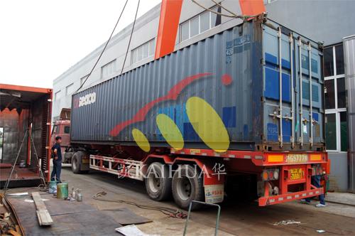 出口尼日利亚3台发电机组今日成功出厂 发货现场 第4张