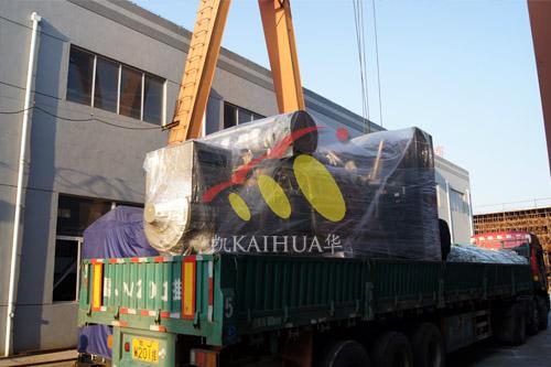 山东建材1300KW济柴发电机组成功出厂 发货现场 第3张