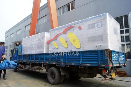 安哥拉两台400KW静音发电机组成功出厂 发货现场 第1张