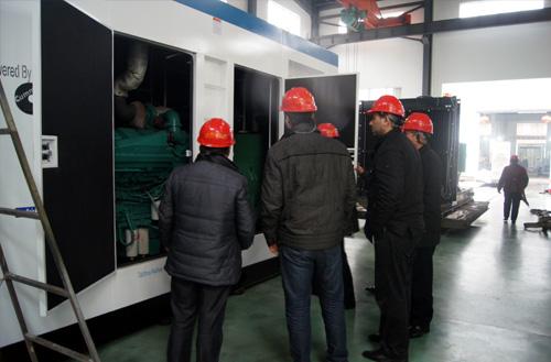 乌兹别克斯坦客户来访我工厂订购燃气发电机组 公司新闻 第2张