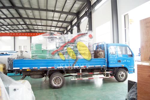 西安房产500KW康明斯发电机组成功出厂 发货现场 第1张