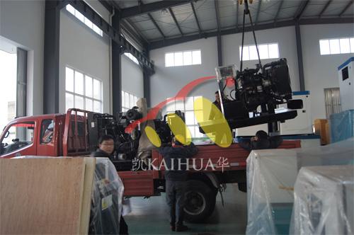 常州水泵厂3台80KW工程机械机组今日成功出厂 发货现场 第2张