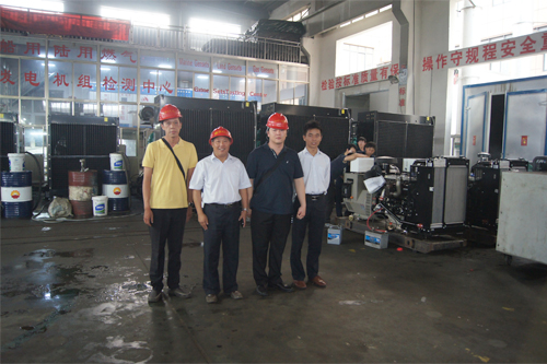 东南亚客户今日到工厂实地考察 公司新闻 第2张