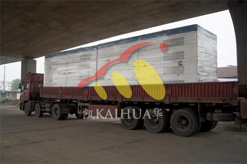 出口印度尼西亚2台800KW康明斯ATS静音机组今日成功出厂 发货现场 第3张
