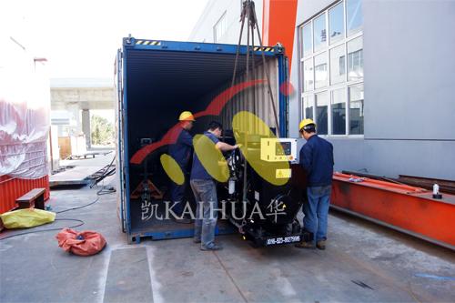 出口印尼6台珀金斯发电机组今日成功出厂 发货现场 第2张