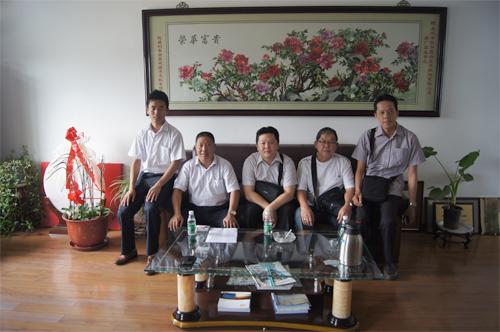 东南亚客户今日到工厂实地考察 公司新闻 第3张