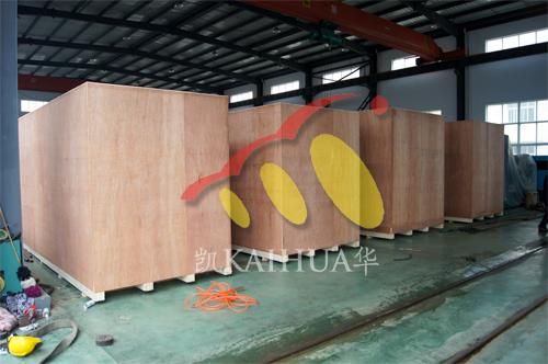 出口泰国4台康明斯静音机组今日成功出厂 发货现场 第2张