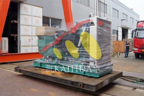 浙江商用汽车公司2台400KW沃尔沃并机机组今日成功出厂 发货现场 第1张