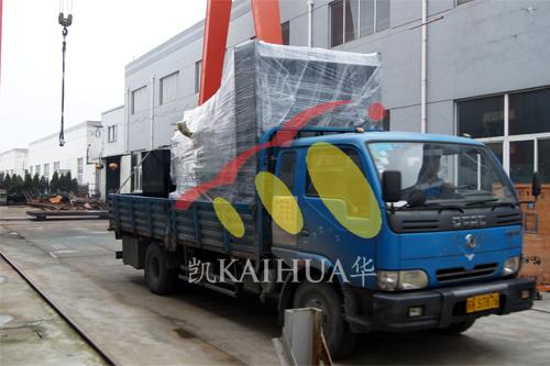 江西建筑公司1台800KW无动发电机组今日成功出厂 发货现场 第3张