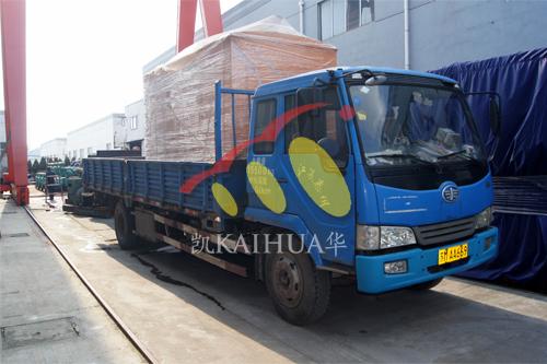 西昌建筑公司1台300KW防雨罩机组今日成功出厂 发货现场 第3张