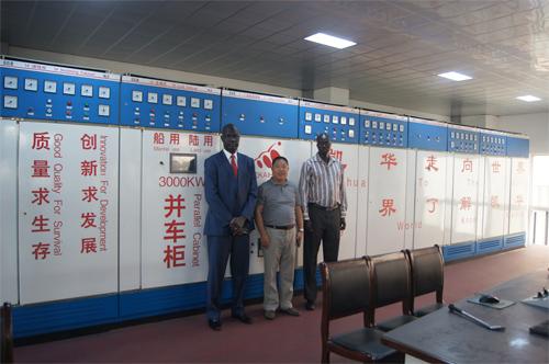 苏丹客户今日来工厂实地考察 公司新闻 第2张