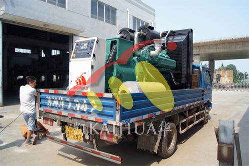 上海钢结构1台500KW无动成功出厂 发货现场 第1张