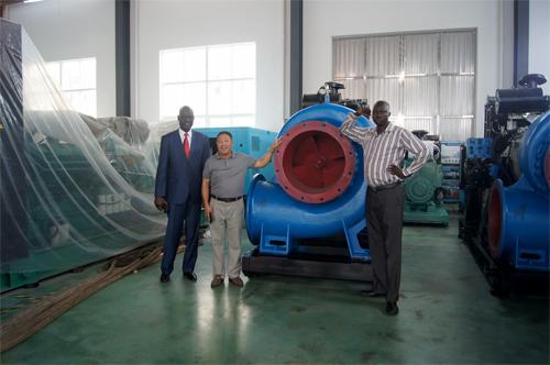 苏丹客户今日来工厂实地考察 公司新闻 第1张