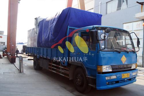 安哥拉两台400KW静音发电机组成功出厂 发货现场 第2张