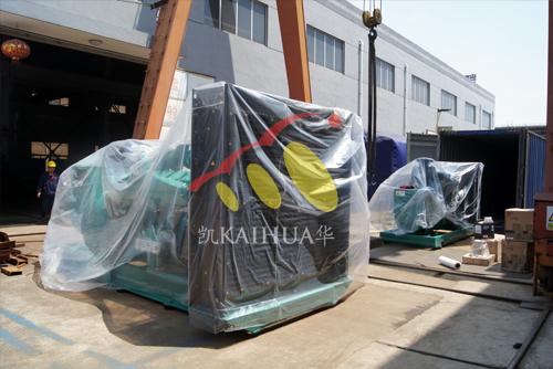 出口也门的两台康明斯发电机组成功出厂 发货现场 第2张