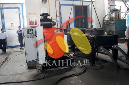 今日哈萨克斯坦客户到公司验收燃气机组 公司新闻 第1张
