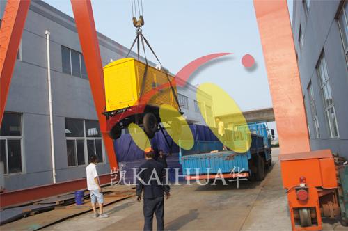 山西矿业1台1KV高压移动式机组今日成功出厂 发货现场 第2张