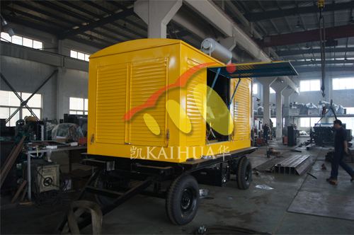 江苏种禽1台400KW移动式发电机组今日成功出厂 发货现场 第1张