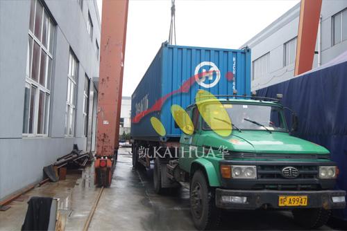 出口新加坡的9台50KW康明斯发电机组成功出厂 发货现场 第2张