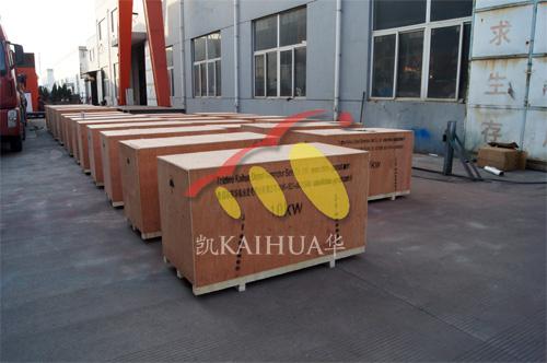 出口刚果25台小型发电机组今日成功出厂 发货现场 第2张
