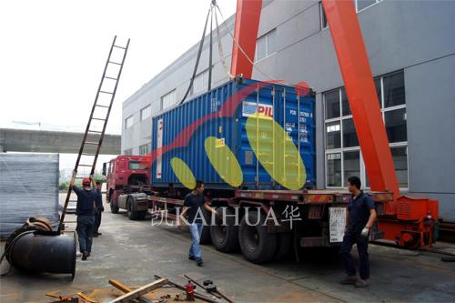 出口安哥拉3台康明斯机组今日成功出厂 发货现场 第3张