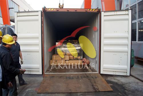 出口印尼9台柴油发电机组今日成功出厂 发货现场 第3张
