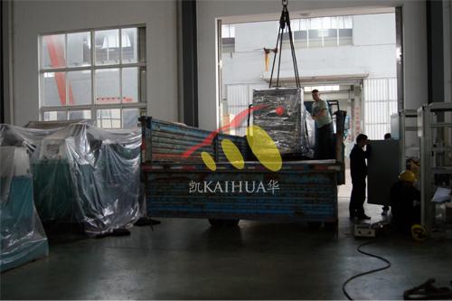 湖南1台上柴发电机组成功出厂 发货现场 第2张
