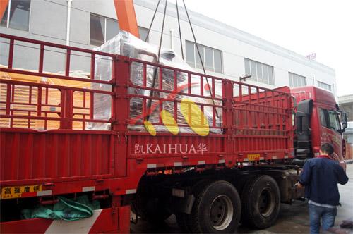 重庆食品公司1台250KW上柴发电机组今日成功出厂 发货现场 第3张