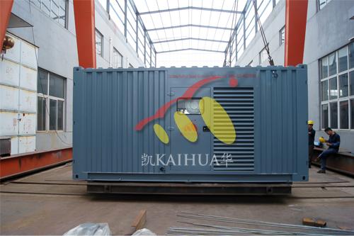 东南亚400KW康明斯集装箱式发电机组今日成功出厂 发货现场 第1张