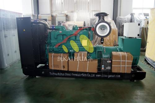 出口苏丹1台300KW康明斯发电机组今日成功出厂 发货现场 第1张