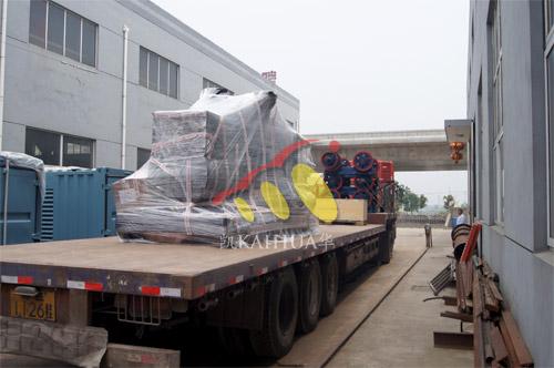 湖北船厂1台500KW玉柴船用发电机组今日成功出厂 发货现场 第3张