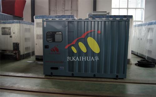 南非1台200KW集装箱式发电机组今日成功出厂 发货现场 第1张