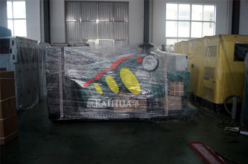 海南石化1台300KW康明斯机组今日成功出厂 发货现场 第2张