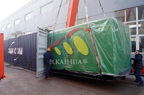出口西非6台康明斯静音机组今日成功出厂 发货现场 第3张