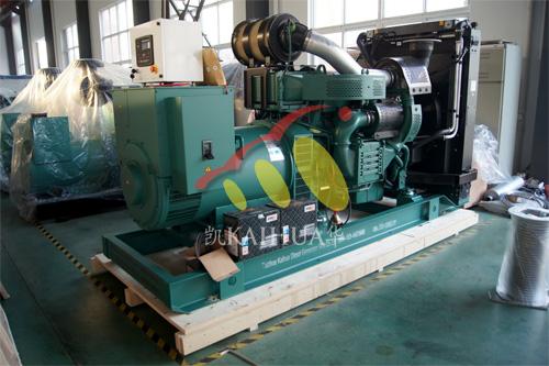 出口非洲1台500KW沃尔沃发电机组今日成功出厂 发货现场 第1张