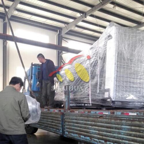 甘肃1台450KW沃尔沃发电机组今日成功出厂 发货现场 第2张