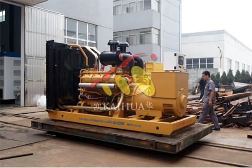 南京1台450KW上柴发电机组今日成功出厂