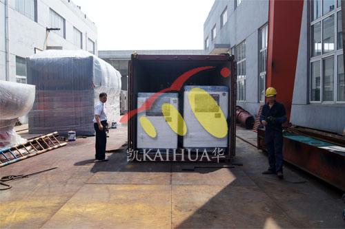 菲律宾5台康明斯静音机组今日成功出厂 发货现场 第3张