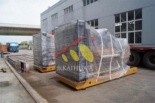 广州水泥公司2台500KW上柴发电机组近日成功出厂 发货现场 第1张