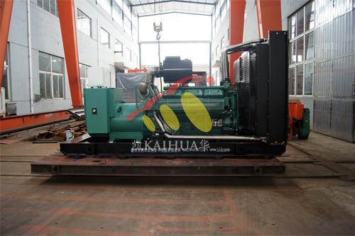 陕西1台800KW无动发电机组今日成功出厂 发货现场 第1张