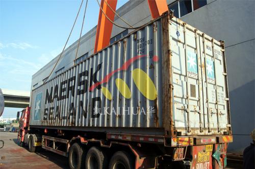出口欧洲5台康明斯并机机组今日成功出厂 发货现场 第4张