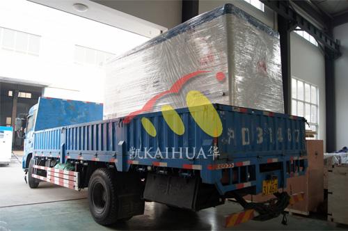 上海实业公司1台200KW康明斯静音机组今日成功出厂 发货现场 第3张